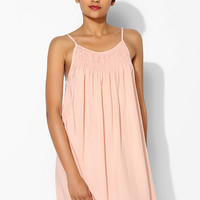 Pins And Needles Georgina Smocked Slip Dress - Urban Outfitters