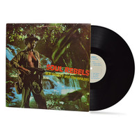"BOB MARLEY & The Wailers - ""Soul Rebels"" vinyl record"
