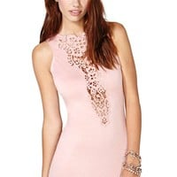Night Springs Dress - Blush