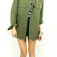 Air Raid Army Jacket