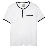Henley Boating T- White