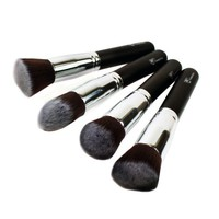 Premium 4 Piece Synthetic Kabuki Make...