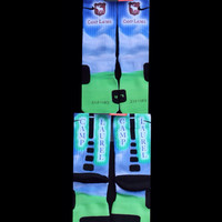 Camp Laurel Inspired custom Nike Elite Socks