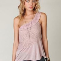 New Romantics One Shoulder Top at Free People Clothing Boutique