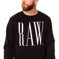 The Posted Sweatshirt in Black