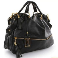 BLACK MARC JACOB BAG PURSE DIAGONAL