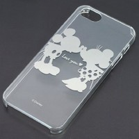 Disney iPhone 5, 5s Clear Case with Mickey and Minnie Mouse