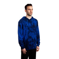 HUF - 12 GALAXY H WASH PULLOVER // ROYAL / NAVY