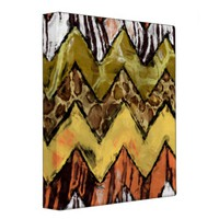 Chevron Safari Binder