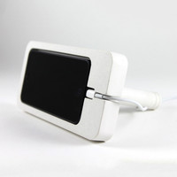 Beton iPhone 5 Dock - White