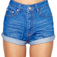 Off the Cuff Denim Short