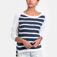 Cruisin' Striped Jumper By MINKPINK | Threadsence