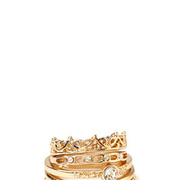 Regal Midi Ring Set