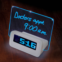 The Written Reminder Alarm Clock
