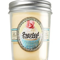 Mason Jar Candle Frosted Cupcake