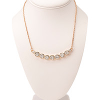 Glam It Up Rhinestone Necklace