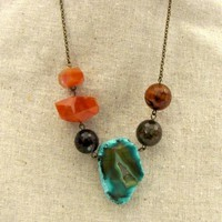 Agate Necklace _ Necklaces _ Jewelry