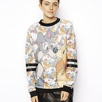 ASOS Sweatshirt with Lady and the Tramp Print