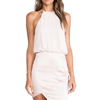 Nookie Royals Halter Dress in Peach
