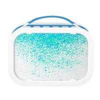 sparkly mint lunch box