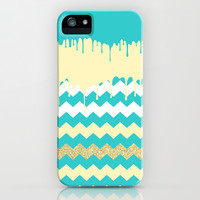 Chevron Dream - for iphone iPhone & iPod Case by Simone Morana Cyla