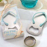 Mini Flip-Flop Bottle Opener - wedding, shower, beach theme party, party favor