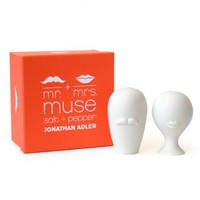 Jonathan Adler Mr. & Mrs. Muse Salt & Pepper Shakers