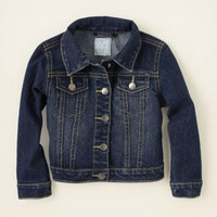 baby girl - outerwear - denim jacket | Children's Clothing | Kids Clothes | The Children's Place