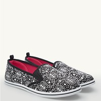 Tribal Slip-On Sneakers