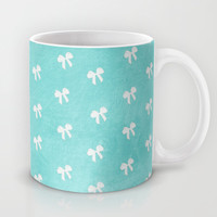 Tiffany Blue Bows Mug by alterEGO