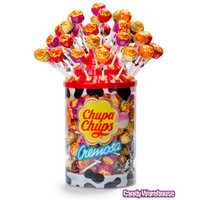 Chupa Chups Cremosa Lollipops: 96-Piece Tub | CandyWarehouse.com Online Candy Store