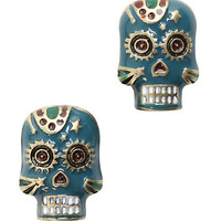 LOVEsick Sugar Skull Earrings