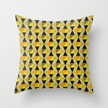Onyx Throw Pillow by Louise Machado