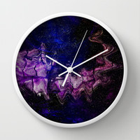 SPIRIT OF THE NIGHT Wall Clock by Catspaws