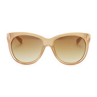 Jimmy Choo Ally Cat-Eye Sunglasses, Gold