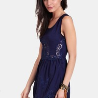 Twin Bridges Lace Dress | Threadsence