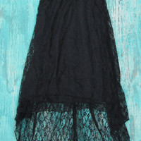 black lace cowgirl dress | Elusive Cowgirl