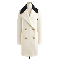 CONTRAST-COLLAR TOPCOAT