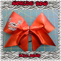 worlds 2014 Minnie mouse cheer bow