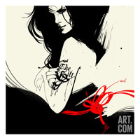 The Gift Giclee Print by Manuel Rebollo at Art.com