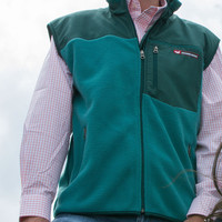 Southern Marsh Fieldtec Fleece Vest - Green