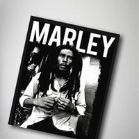 Marley 'Black and White' Fleece Blanket