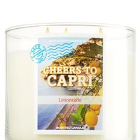 14.5 oz. 3-Wick Candle Cheers to Capri - Limoncello