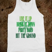 LIVE IT UP - IRISH
