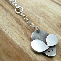 Sterling Silver Mouse Necklace with Gift Box - Animal Jewellery