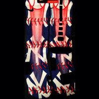 New York Yankees Inspired Custom Nike Elites