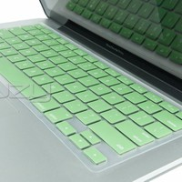 "Kuzy - Mint GREEN Keyboard Cover Silicone Skin for MacBook Pro 13"" 15"" 17"" (with or w/out Retina Display) iMac and MacBook Air 13"" - Mint Green"