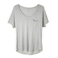 Slouchy Ryan Pocket Tee