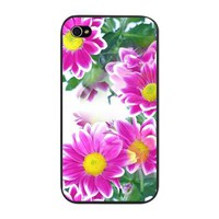 Pretty Pink Daisies Iphone 4 Snap Case> Pretty Pink Daisies> Accessorize Me