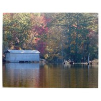 Boathouse on Blount's Creek
